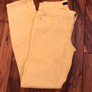 Yellow Bebe pants